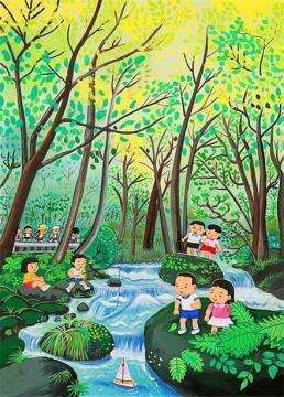 六一图片儿童画简单2016精选 关于六一儿童节图片画画